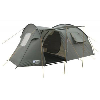 Четырёхместная палатка Terra Incognita Olympia 4 хаки