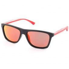 Очки поляризационные Lucky John 02 (поликарбонат, линзы дымчатые + Mirror red)