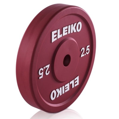 Олимпийский технический диск Eleiko 3002268 для тяжелой атлетики 2,5 кг (d-50 мм)