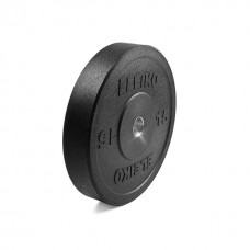 Диск амортизирующий Eleiko XF 15 кг, черный 3002219-15