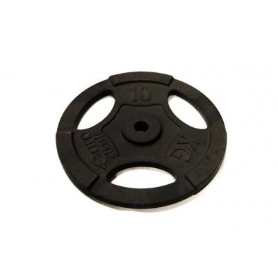 Диск чугунный Evrotop d 25 мм 10 кг SS-EK-D25-2047-10