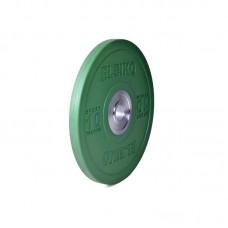 Диск Eleiko 3001949-10 для тренировок 10 кг цветной (d-50,4-51 мм), каучук