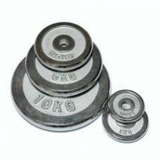 Диск металлический Fitlogic Chrome Plate DB6020 10кг