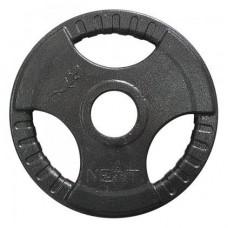 Диск тяжелоатлетический с хватами Newt 5 кг, TI-N-005