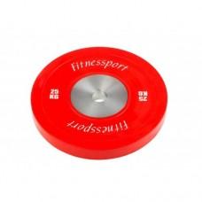 Диск для кроссфита соревновательный Fitnessport RCP 22-25 кг