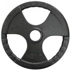 Диск тяжелоатлетический с хватами Newt 10 кг, TI-N-010