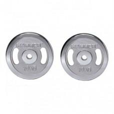 Диски хромированные Hammer 4674 2x10 кг ( d-30 мм)