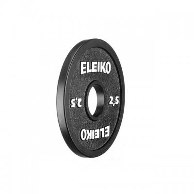 Диск Eleiko 3000236 для соревнований по пауэрлифтингу 2,5 кг (d-50 мм), металлический