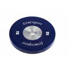 Диск для кроссфита соревновательный Fitnessport RCP 22-20 кг