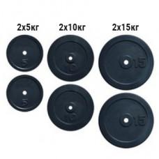 Набор дисков композитных Newt Rock 60 кг