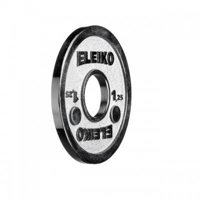 Диск Eleiko 3000237 для соревнований по пауэрлифтингу 1,25 кг (d-50 мм), металлический