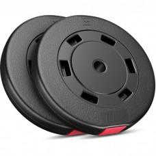 Сет из композитных дисков Hop-Sport Premium SET D-20 (2х10 кг)