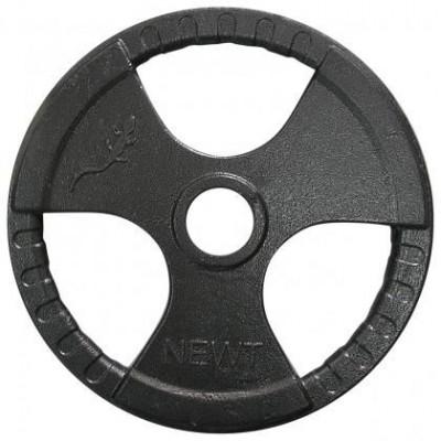 Диск тяжелоатлетический с хватами Newt 25 кг, TI-N-025