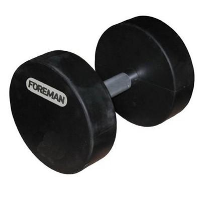 Гантели фиксир. обрезиненные FOREMAN, 30 кг FMRD-30KG