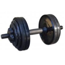 Гантель разборная черная 13,82 кг InterAtletika СТ 530.15