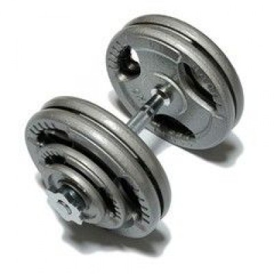 Гантель наборная Fitlogic Hammer Finished Dumbbell 25.5 kg