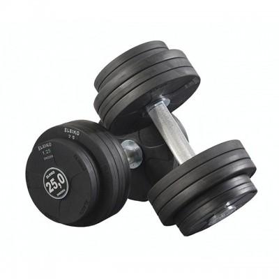 Гантель обрезиненная Eleiko 375-0275 27,5 кг (d-200 мм)