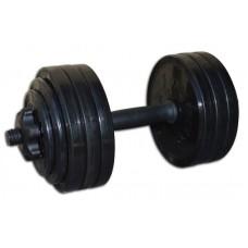 Гантель разборная черная 18,82 кг InterAtletika СТ 530.20