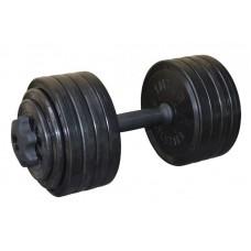 Гантель разборная черная 23,82 кг InterAtletika СТ 530.25