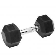 Гантель обрезиненная SPART 55 кг DB6101 - 55 кг
