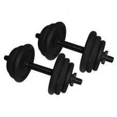 Гантели наборные стальные Newt 2 шт по 12,5 кг