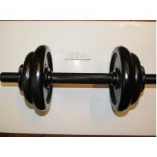 Гантель тренировочная разборная БодиМакс 15 кг ВМ-014