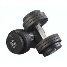 Гантель обрезиненная Eleiko 375-0125 12,5 кг (d-200 мм)