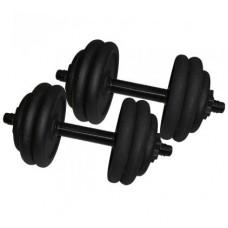 Гантели наборные стальные Newt 2 шт по 14,5 кг