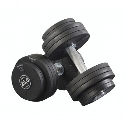Гантель обрезиненная Eleiko 375-0200 20 кг (d-200 мм)