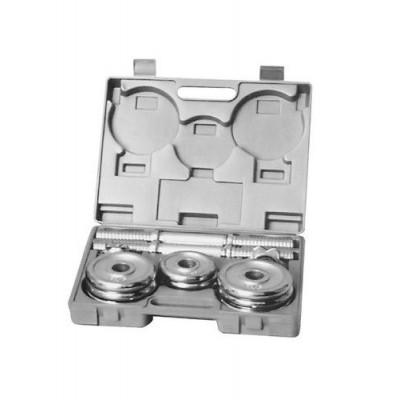 Гантели в наборе хромированные 15 кг HouseFit (DB 301) 23001