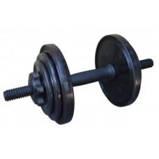 Гантель разборная черная 8,82 кг InterAtletika СТ 530.10