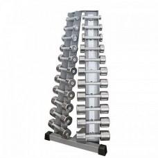 Стойка с набором гантелей 0,5-10 кг Inter Atletika ST410.1