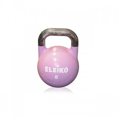Гиря для соревнований Eleiko 383-0080 8 кг, алюминиевая