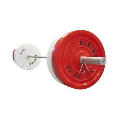 Олимпийская техническая штанга Eleiko 197-0200 в сборе 20 кг