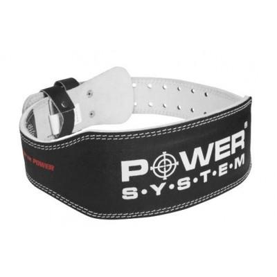 Пояс для тяжелой атлетики Power System Basic PS-3250 M Black