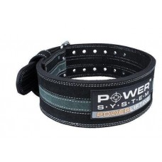 Пояс для пауэрлифтинга Power System Power Lifting PS-3800 L Black/Grey