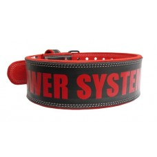 Пояс для тяжелой атлетики Power System Beast PS-3830 XL Black/Red