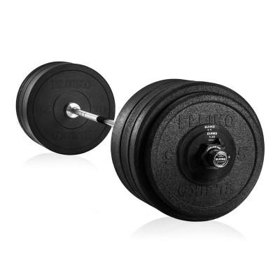 Штанга для кроссфита Eleiko 3002375 в сборе - 128 кг хромированная