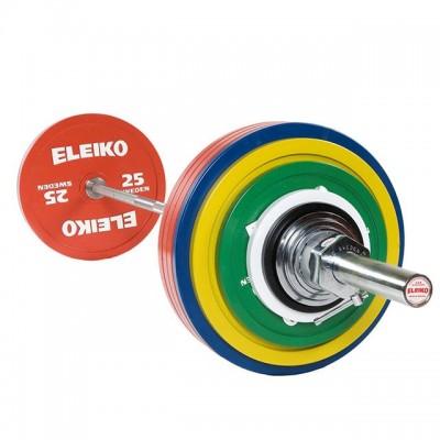 Штанга для пауэрлифтинга Eleiko 3002312 тренировочная в сборе - 185 кг