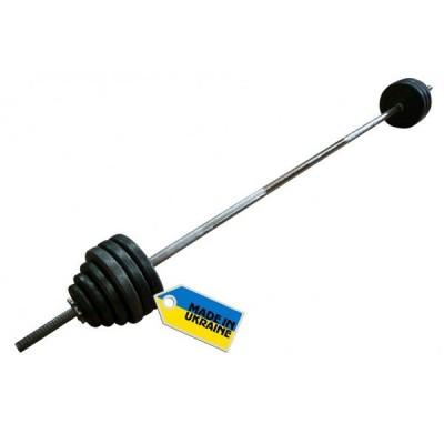 Штанга наборная Newt TI-0201-180-50 Home 50 кг