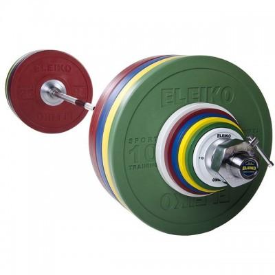 Спортивная тренировочная штанга Eleiko 3002228 190 кг цветная