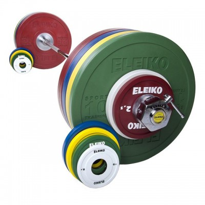Спортивная тренировочная штанга Eleiko 3002229 185 кг цветная
