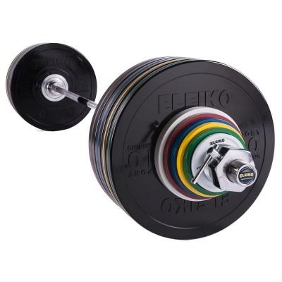 Спортивная тренировочная штанга Eleiko 3002318 190 кг черная