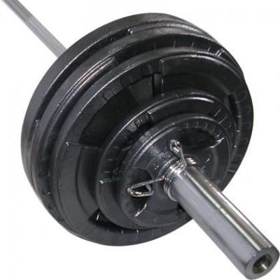 Штанга олимпийская Newt 100 кг. Гриф 2,2м, TI-NE0100-2200