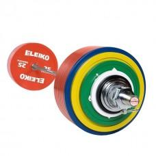 Штанга для пауэрлифтинга Eleiko 3002314 тренировочная в сборе - 435 кг