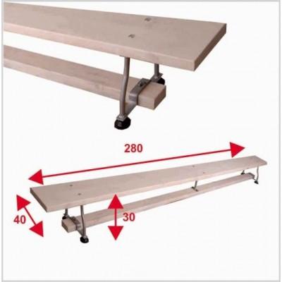 Гимнастическая скамейка Boyko 2,8х0,3х0,4
