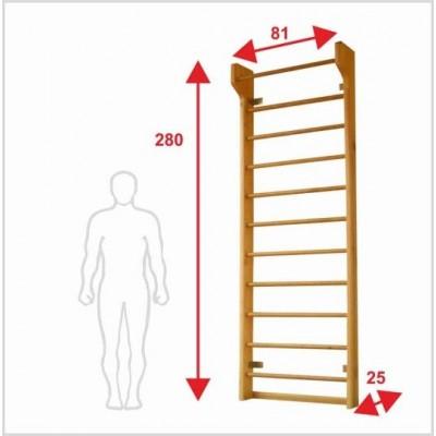 Шведская лестница Boyko 2,8х0,81х0,25