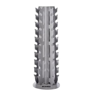 Вертикальная стойка под гантели Eleiko 3002378-01 XF, серебристая
