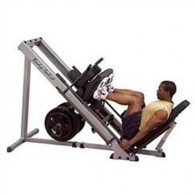 Силовой тренажер BodySolid Leg Press Hack Squat