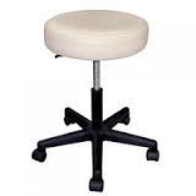 Стул для массажиста со спинкой Pro Stool with Back, цвет бежевый 31002-64